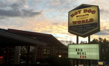 The sun sets on Hot Dog World