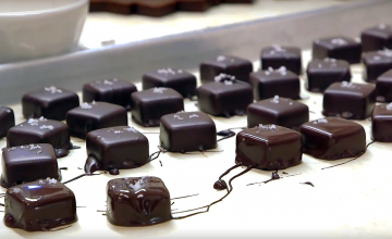 Customers can chose from a plentiful array of sweets at the Videri chocolate counter. One crowd favorite is the sea salt caramels dipped in a chocolate coating.