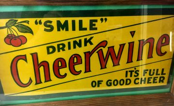 Named for its burgundy, wine-like color and its cheerful, fizzy character, Cheerwine has been