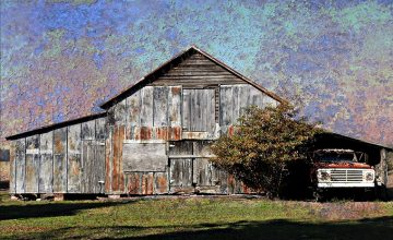 Old Barn and Farm Truck