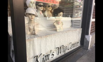 Kim's Wig Center Store Front — Kim's Wig Center in downtown Asheville has invited customers inside its doors for 45 years.