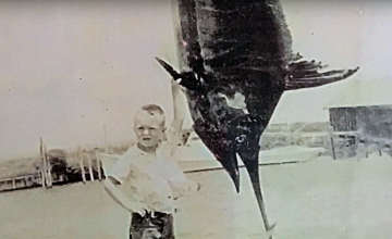Captain Ernie Foster (seen here) started his career in the family business from a very young age. A natural knack for sport fishing runs in the Foster blood.